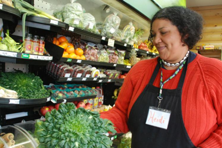 Just Local Food Co-op In Store Shopper in Eau Claire, Wi