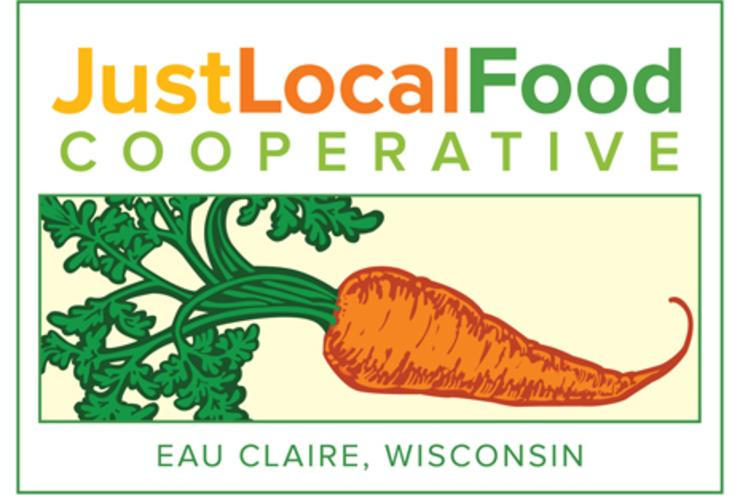 Just Local Food Co-op Logo in Eau Claire, Wi