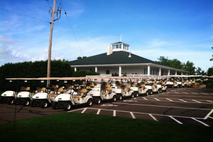 Lake Wissota Golf & Events golf carts
