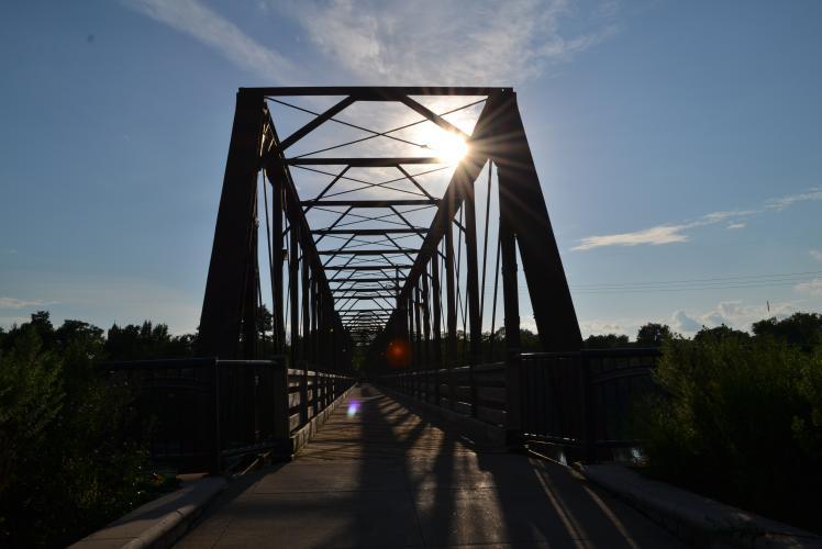 Kayla Lobermeier Photography - Phoenix Park Bridge Eau Claire, WI
