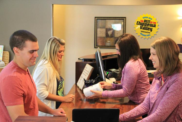 Stucky Front Desk - Voted Best in Chippewa Valley