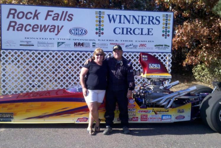 Rock Falls Raceway Couple