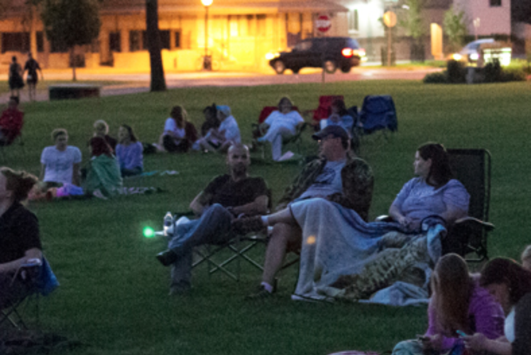Summer Cinema at UWEC Haas Fine Arts Center in Eau Claire, WI