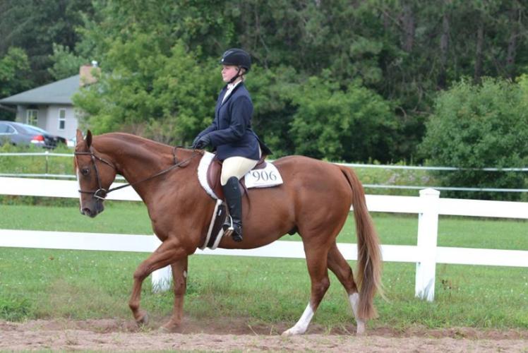 Eau Claire Bit and Spur Saddle Club Rider