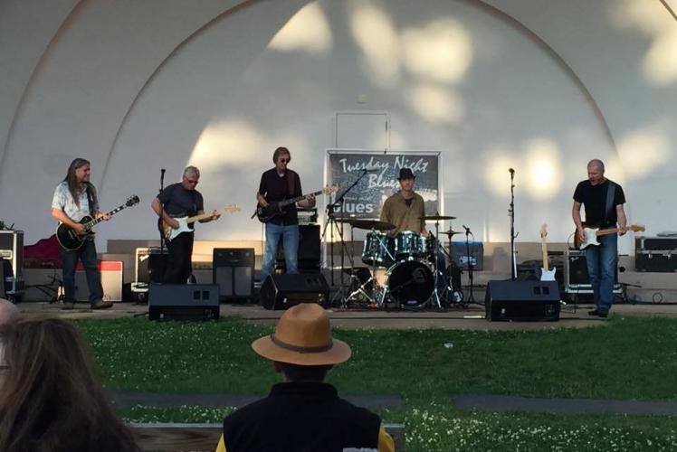 Tuesday Night Blues at Owen Park In Eau claire, Wi