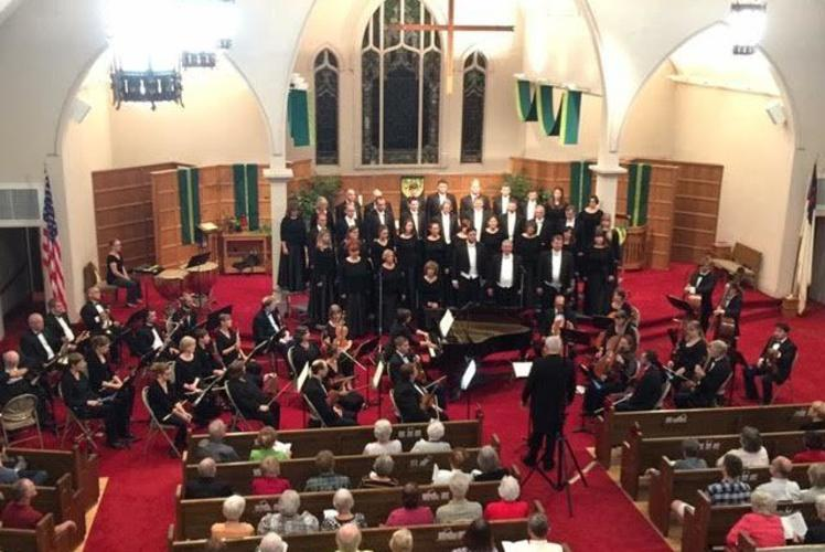 The Master Singers with Eau Claire Chamber Orchestra - 2015