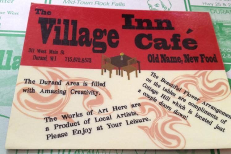 Village Inn Cafe in Durand, Wisconsin