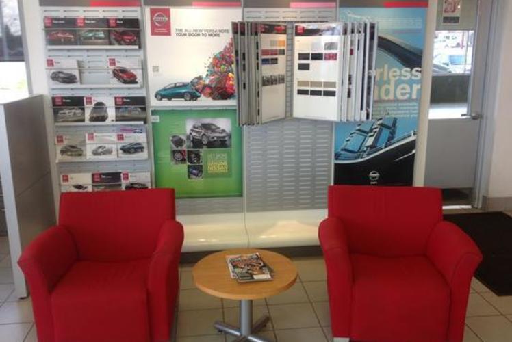 Eau Claire Automotive Group Waiting Room
