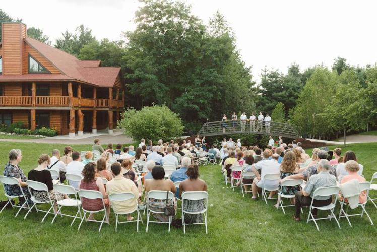 Weddings at White's Wildwood Retreat in Chippewa Falls, Wisconsin