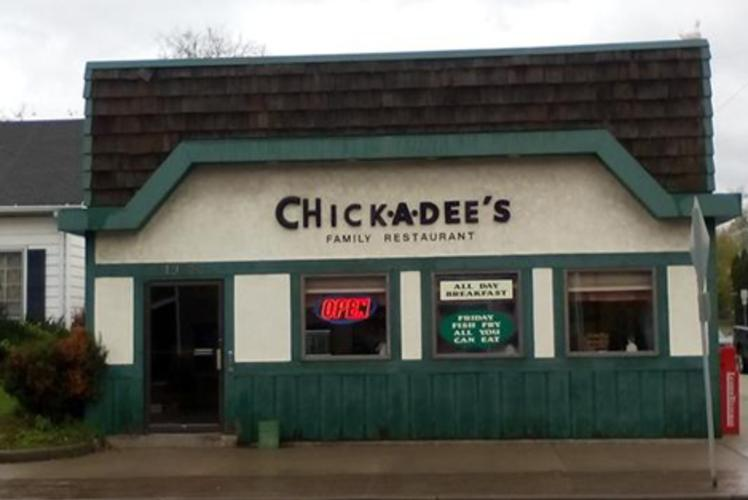 Chick-a-dees restaurant in Eau Claire, Wi
