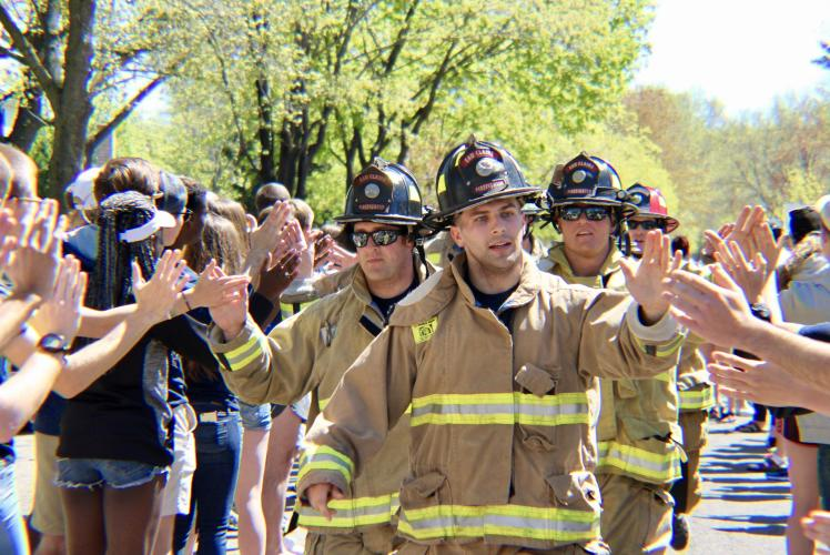 CJL Photography - Firefighter Crowd