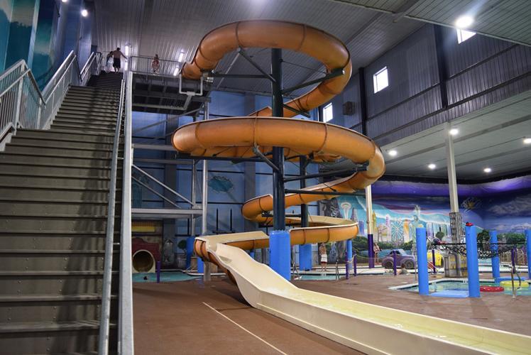 Chaos Waterpark Slide