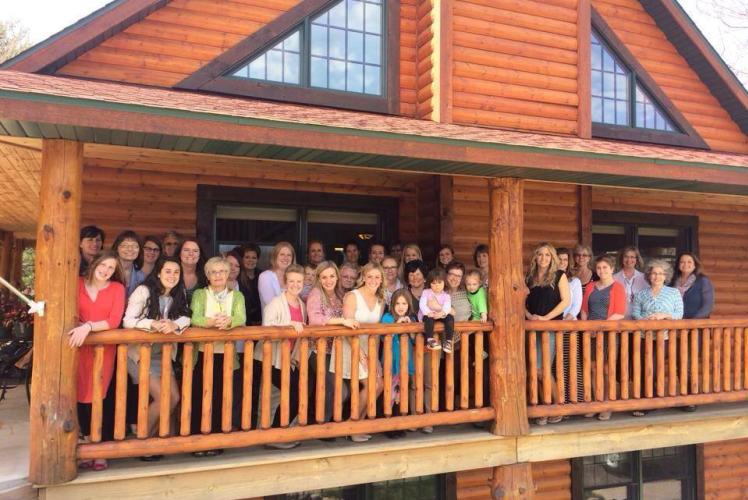 Reunions at White's Wildwood Retreat in Eau Claire, Wisconsin