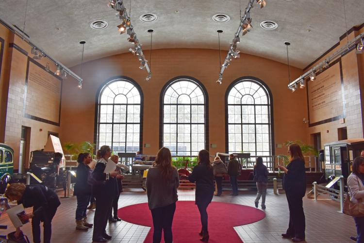 Saratoga Auto Museum Wedding FAM