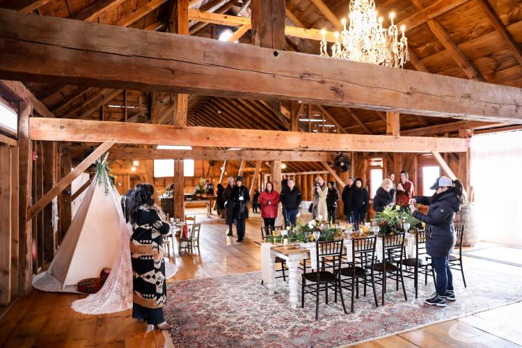 Wedding Barn at Lakota's