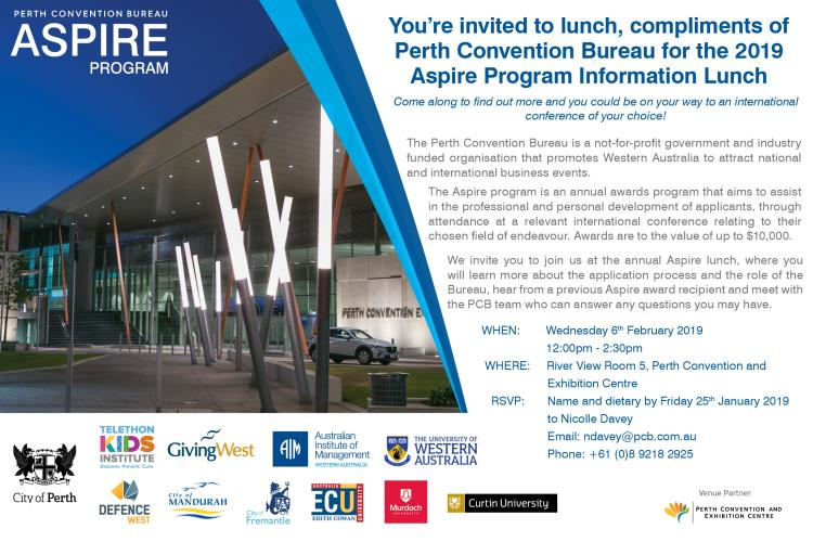 NEW - Aspire Info Lunch Invite