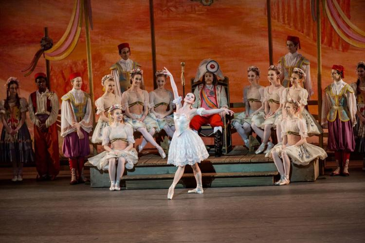 NYC Ballet performing Coppelia