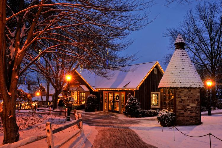 No matter the season, Peddler's Village is always beautiful to visit and capture the natural surroundings.