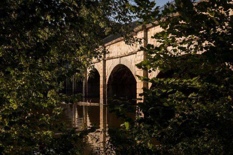Monocacy Aquaduct bridge in Frederick County