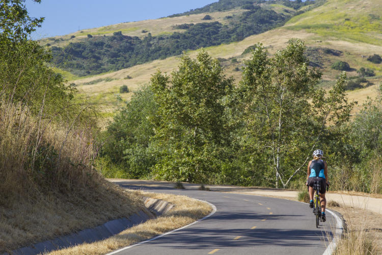 Many areas offer paved trails that are ideal for cycling as well running and walking.