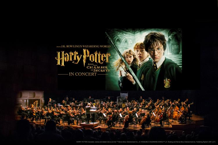 Harry Potter with orchestra c Warner Bros