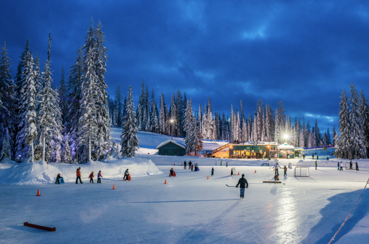 SilverStar Skating Pond