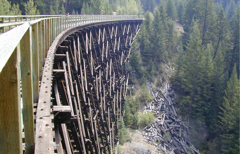 Myra Canyon Testles
