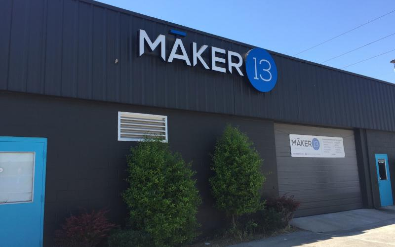 Maker 13 Outside of Building