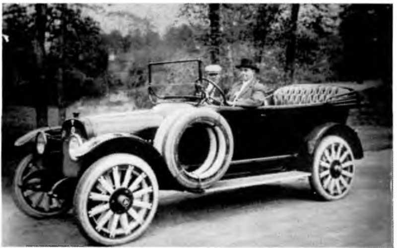 Burritt and his Car