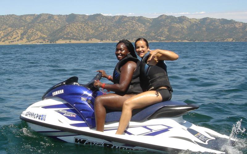 boating at Lake Berryessa