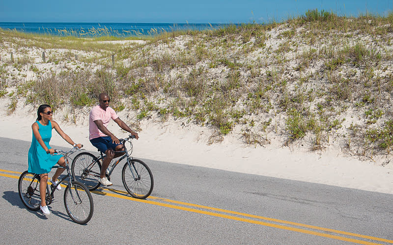 Biking Pensacola Beach