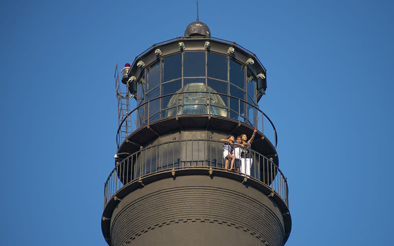 Experience Lighthouse top