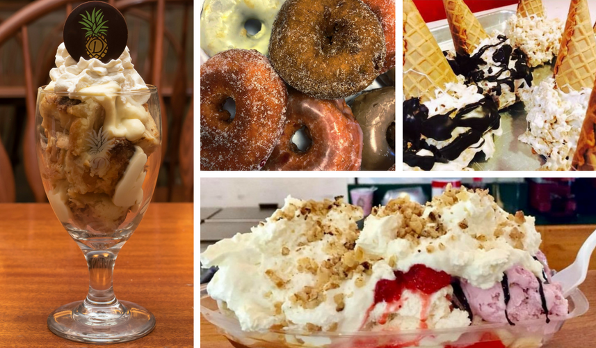 Sweet Treats Dining Bucket List