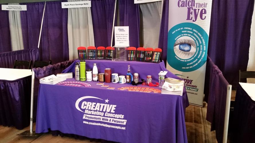 Creative Marketing Concepts vendor booth