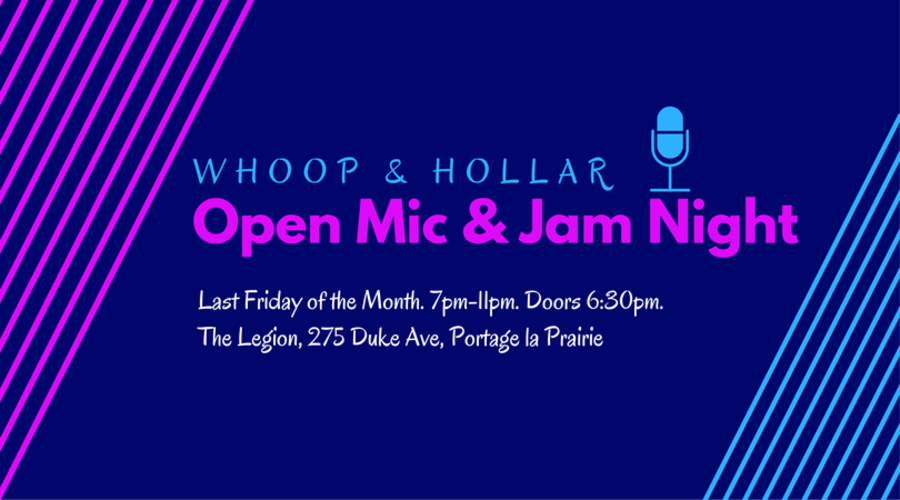 Whoop & Hollar Folk Festival open mic