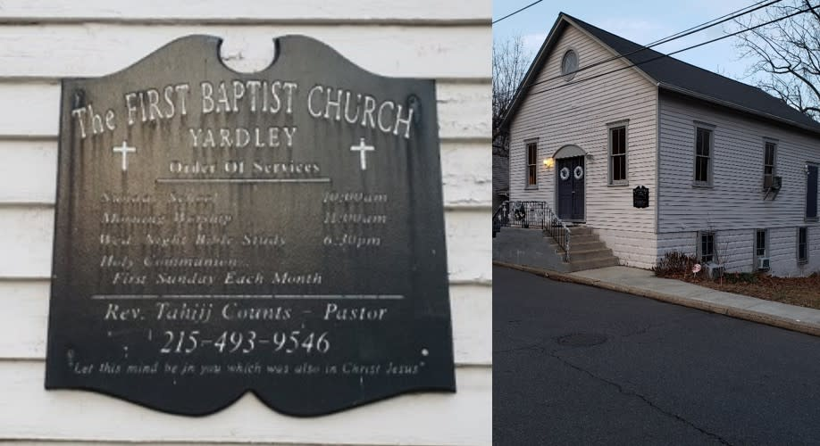 The First Baptist Church of Yardley