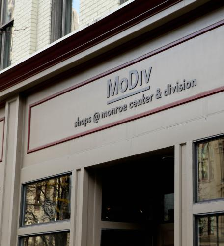 MoDiv Store Front, Downtown Grand Rapids