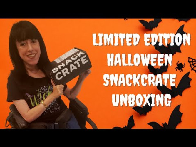 We Are Eating Spooky Treats - Halloween SnackCrate Unboxing