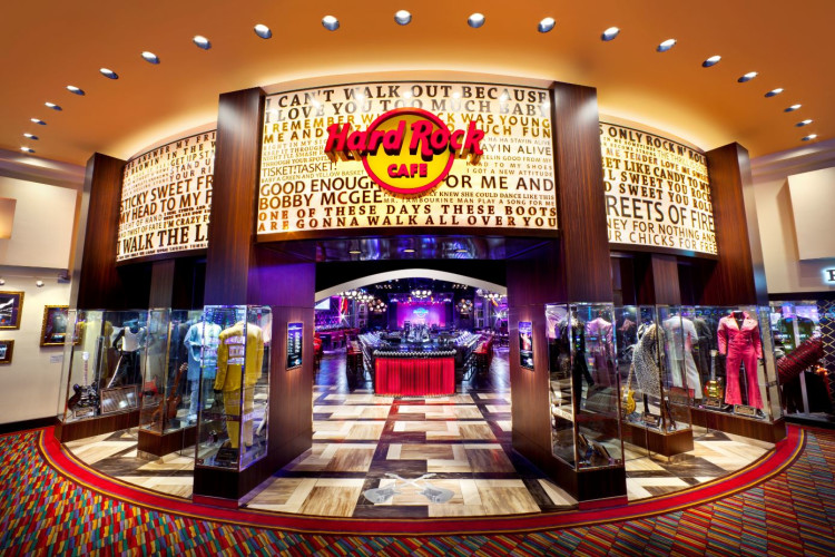 Hard Rock Cafe Entrance
