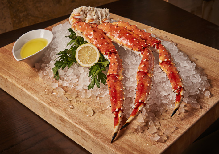 Council Oak Steaks & Seafood, Alaskan King Crab