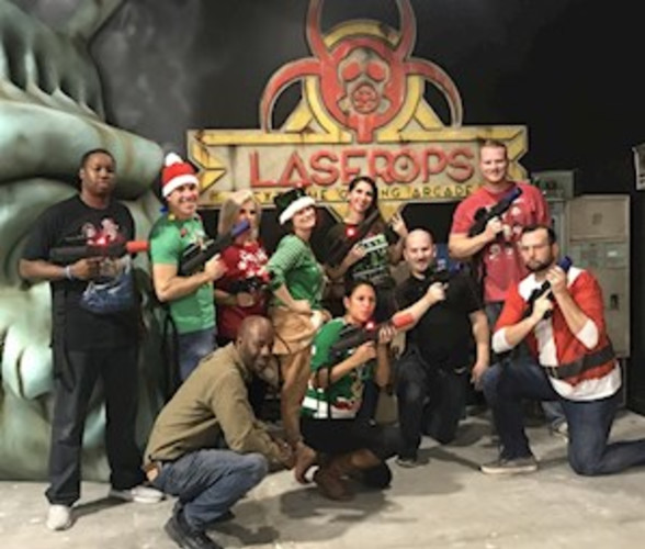 8,000 sf Tactical Laser Tag Experience