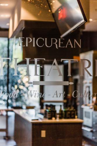Epicurean Theatre - Window