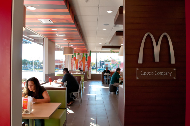 McDonald's Interior at 1905 N. Dale Mabry Hwy.