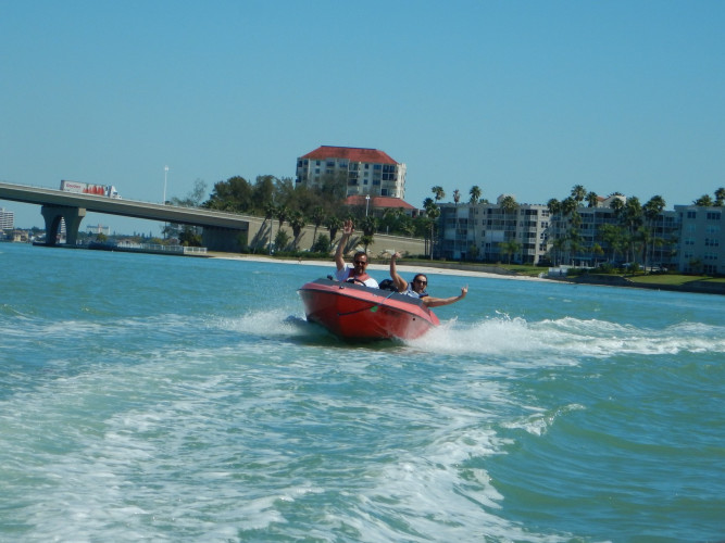 St. Pete Speed Boat Adventure