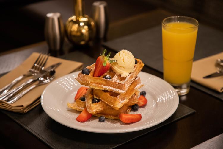 Rise Kitchen & Deli Belgian Waffles