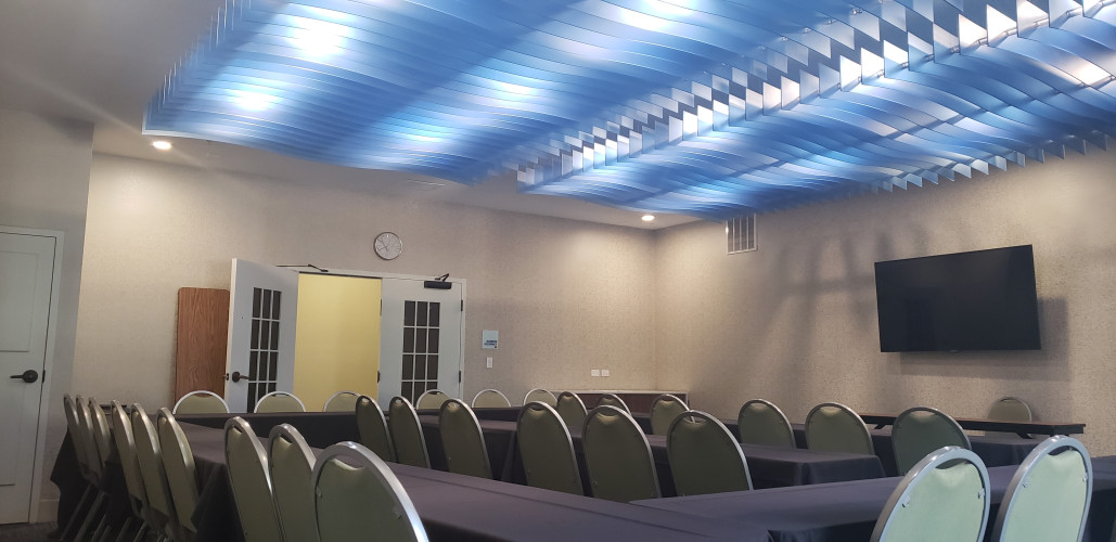 Meeting Room ~ The Blue Waves
