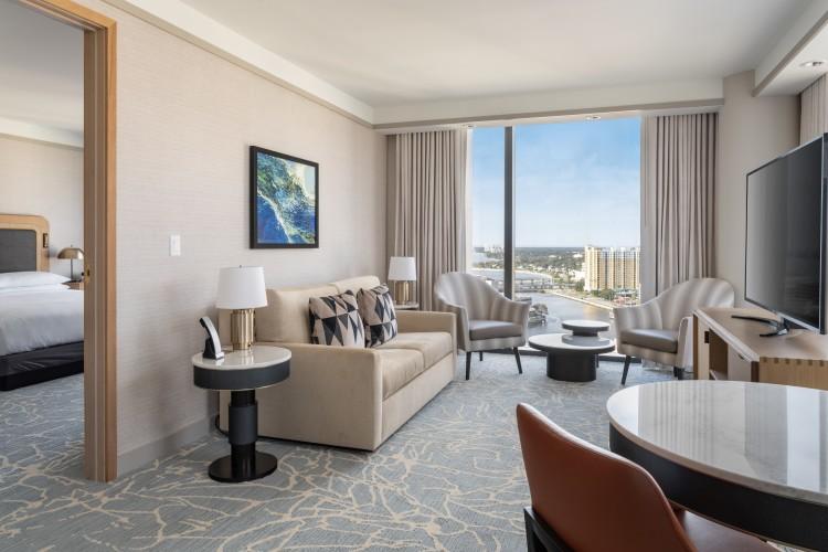 Chairman Suite Living Suite