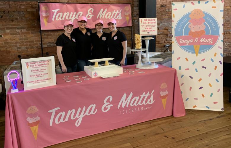 TANYA & MATT'S ICE CREAM