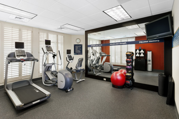 Fitness Center Hampton Inn & Suites Ybor City Hotel