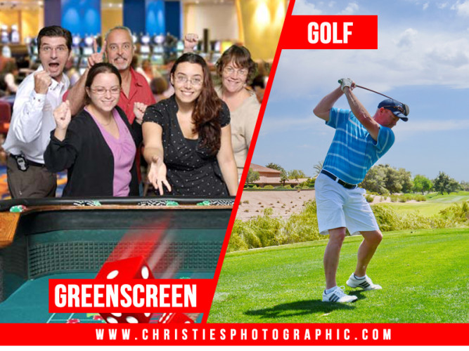 Greenscreen & Golf